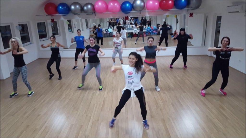pilates aerobics